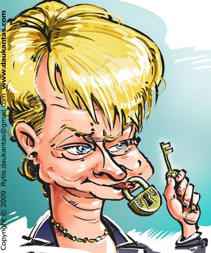 """Vaizdo rezultatas pagal užklausą """"grybauskaitės karikatūros"""""""